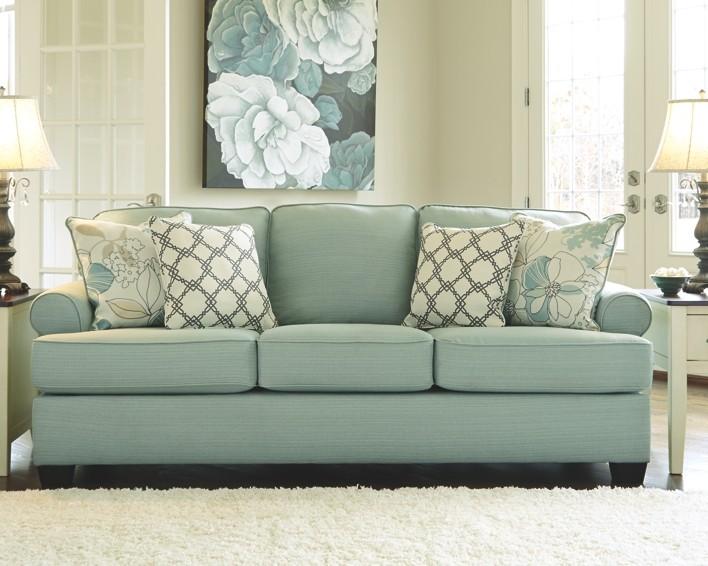 daystar seafoam sofa 2820038 sofas the furniture barn ia