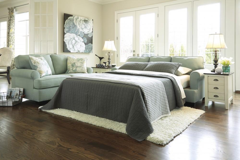Daystar   Seafoam   Queen Sofa Sleeper