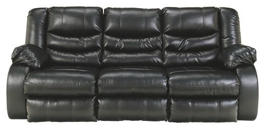 Sensational Linebacker Durablend Black Reclining Sofa Gmtry Best Dining Table And Chair Ideas Images Gmtryco