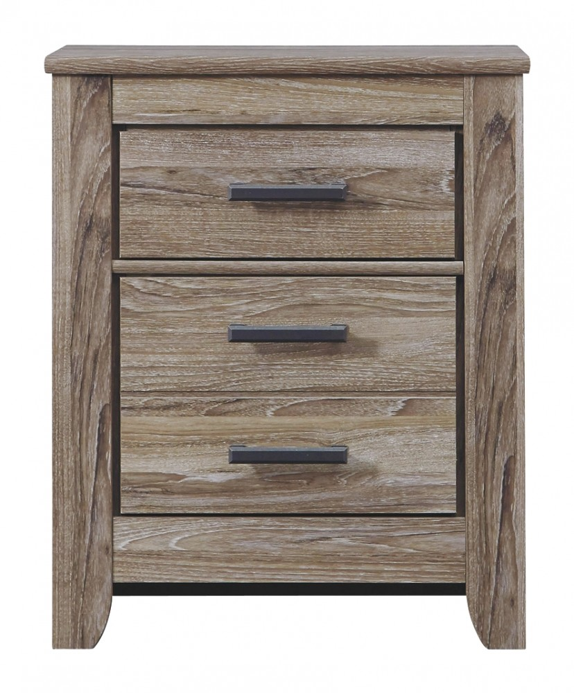 Zelen Two Drawer Night Stand B248 92 Night Stands