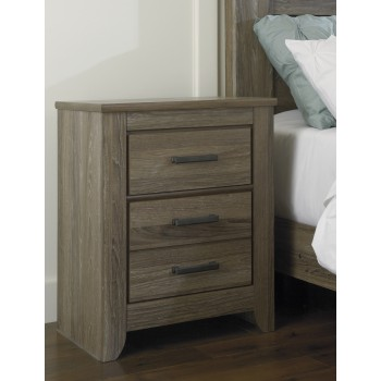 Zelen - Two Drawer Night Stand