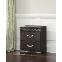 Vachel - Two Drawer Night Stand