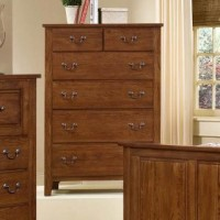 Simply Oak - Chest - 6 Drawers - Dark Oak Finish