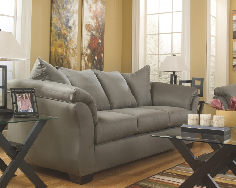 Darcy Cobblestone Sofa 7500538 Sofas Mike S Furniture