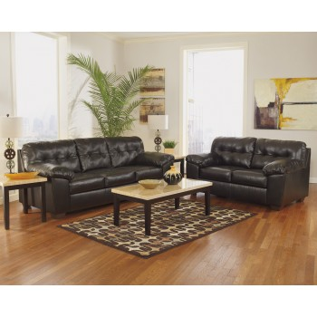 Alliston DuraBlend - Chocolate Sofa & Loveseat