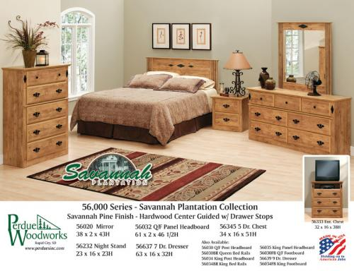 Series Savannah Plantation Bedroom Group