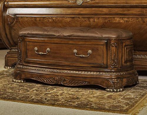 Aico Cortina in Honey Walnut Bedroom | Honey Walnut Bed ...