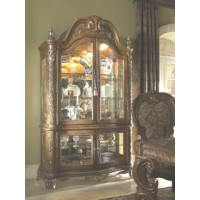 Aico Venetian Honey Walnut Dining Room Group