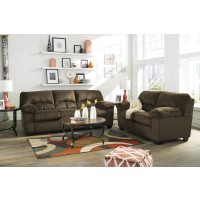 Dailey - Chocolate - Sofa & Loveseat