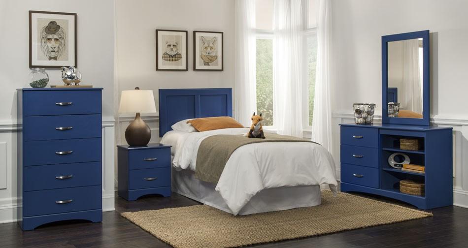 Royal Blue - Bedroom Group