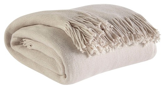 Haiden - Ivory/Taupe - Throw