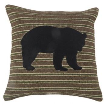Darrell - Brown/Black/Green - Pillow