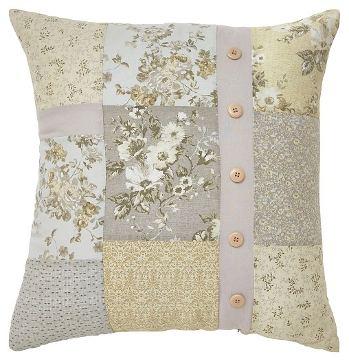 Josey - Gray/Yellow/Cream - Pillow
