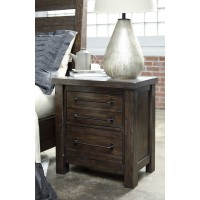 Starmore - Brown - Two Drawer Night Stand