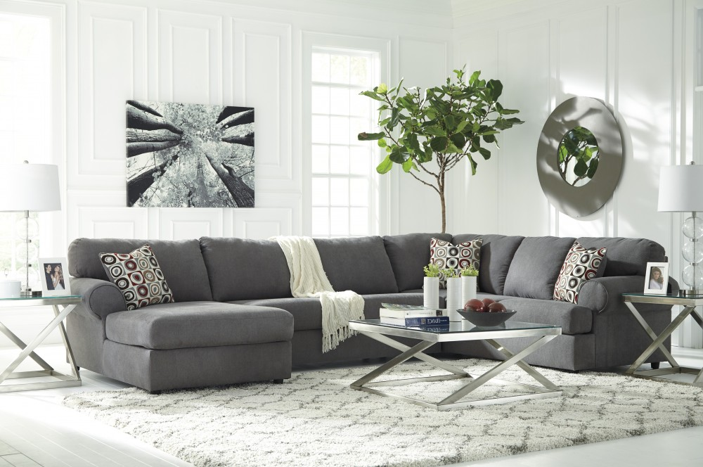 Jayceon - Steel 3 Pc LAF Corner Chaise Sectional