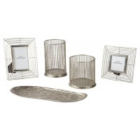 Dympna - Silver Finish - Accessory Set (5/CN)