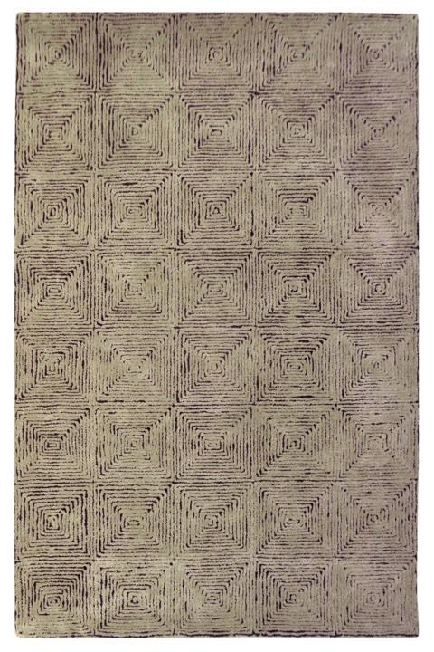 Kanan - Taupe/Black - Medium Rug