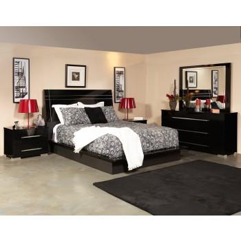 Dimora 5pc Bedroom Group Black