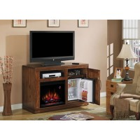 Party Time Fireplace/Fridge by Classic Flame