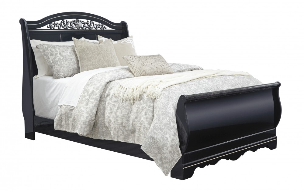 Constellations Queen Sleigh Bed
