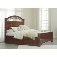 Fairbrooks Estate Queen Poster Bed with Storage