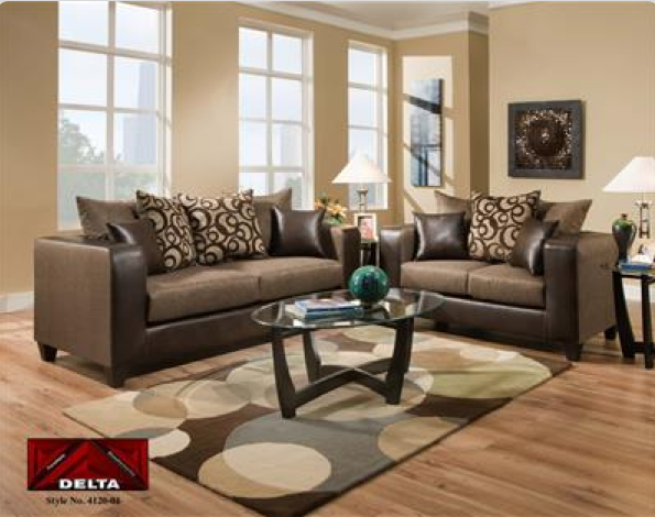 4120 Delta Espresso Living Room Group 4120esp Living Room Sets