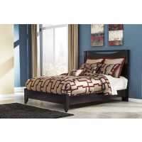 Zanbury King Panel Bed