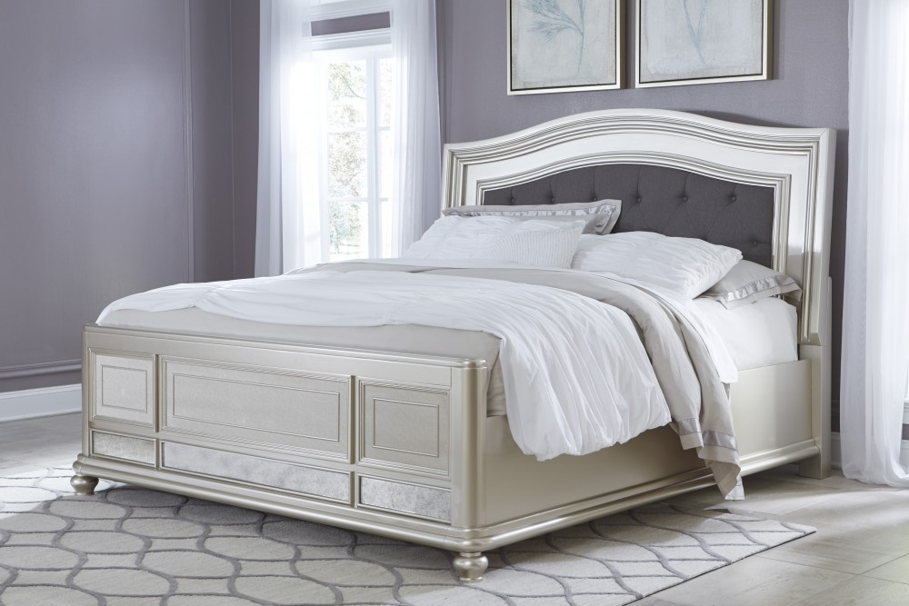 Coralayne California King UPH Panel Bed