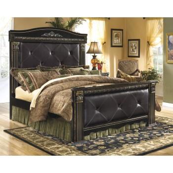 Coal Creek King Mansion Bed