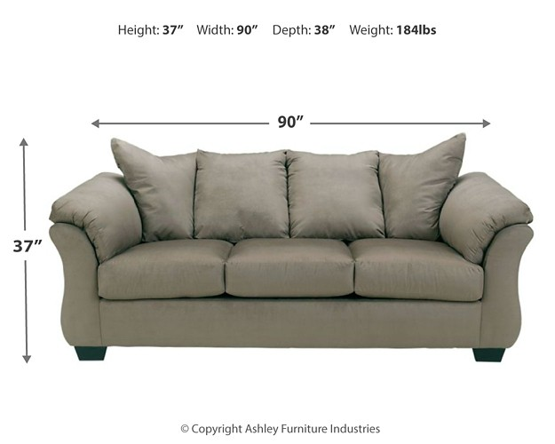 Darcy - Cobblestone - Full Sofa Sleeper