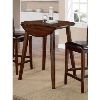 Elegant Marcellus Counter Height Drop Leaf Table