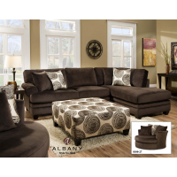 Albany 8642 Two Piece Sectional