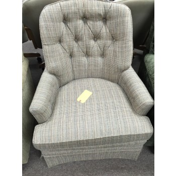Stripe Swivel Chair