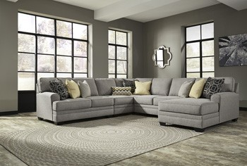 Cresson - Pewter - LAF Corner Chaise