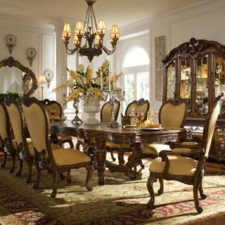 Aico Palais Royale Rococo Cognac Dining Room