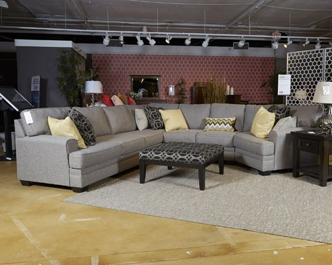 Cresson - Pewter - Armless Sofa