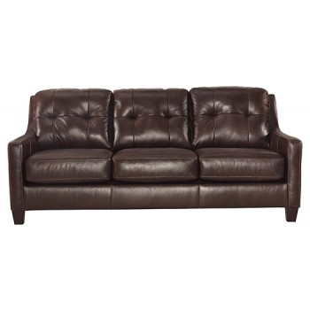 O'Kean - Mahogany - Queen Sofa Sleeper