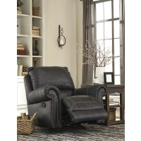 Milhaven - Black - Power Rocker Recliner