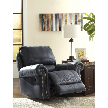 Milhaven - Navy - Power Rocker Recliner