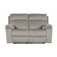 Uhland - Granite - PWR REC Loveseat/ADJ Headrest