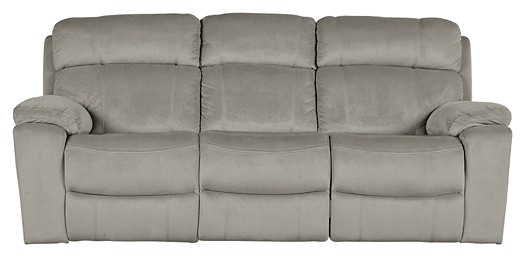 Uhland - Granite - PWR REC Sofa with ADJ Headrest