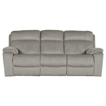 Uhland - Granite - PWR REC Sofa with ADJ Headrest