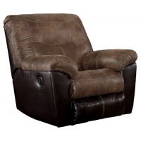 Follett - Coffee - Rocker Recliner
