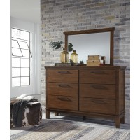 Ralene - Medium Brown - Bedroom Mirror