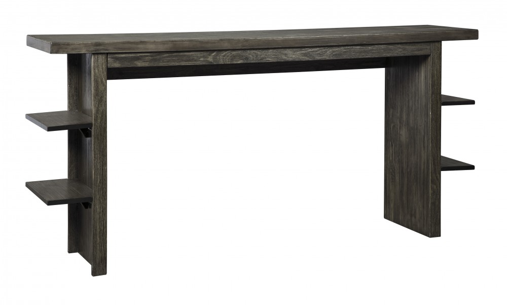 Lamoille - Dark Gray - Long Counter Table