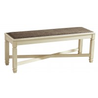 Bolanburg - Antique White - Large UPH Dining Room Bench