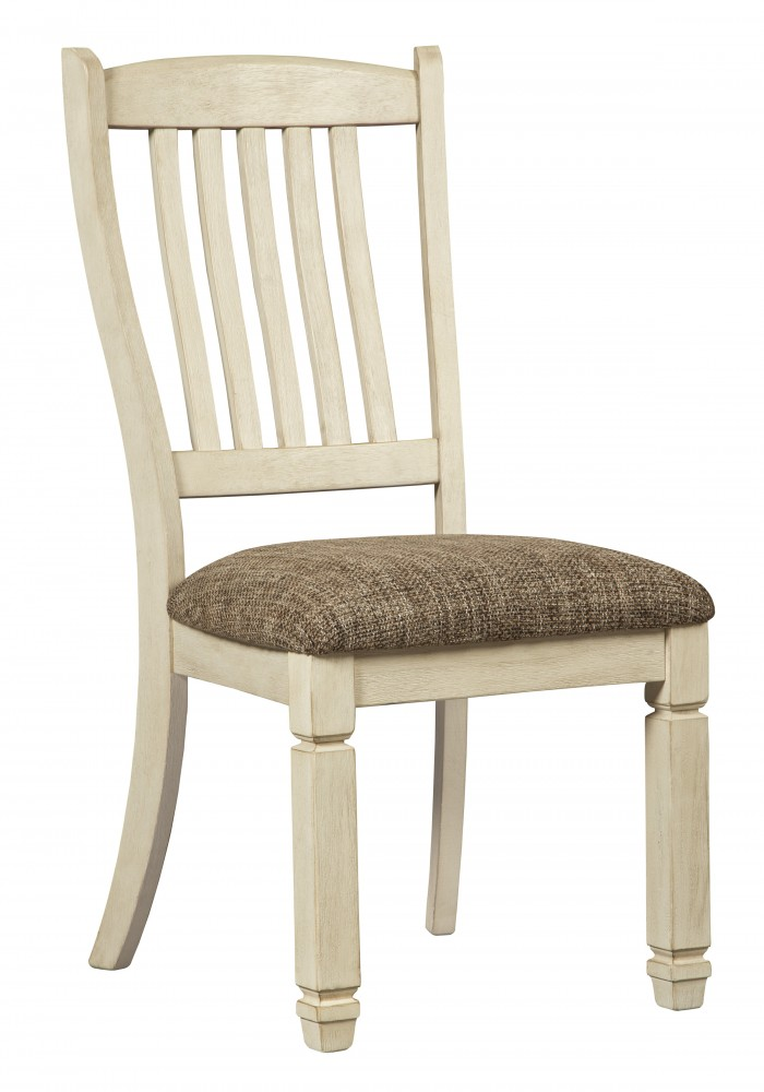 Bolanburg - Antique White - Dining UPH Side Chair (2/CN) - Bolanburg - Antique White - Dining UPH Side Chair (2/CN) D647-01
