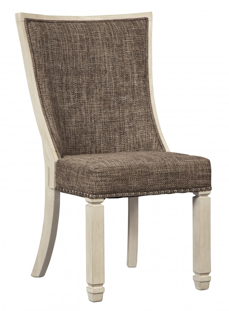 Bolanburg - Antique White - Dining UPH Side Chair (2/CN) - Bolanburg - Antique White - Dining UPH Side Chair (2/CN) D647-02