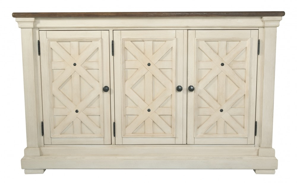 Pleasant Bolanburg Antique White Dining Room Server Download Free Architecture Designs Embacsunscenecom