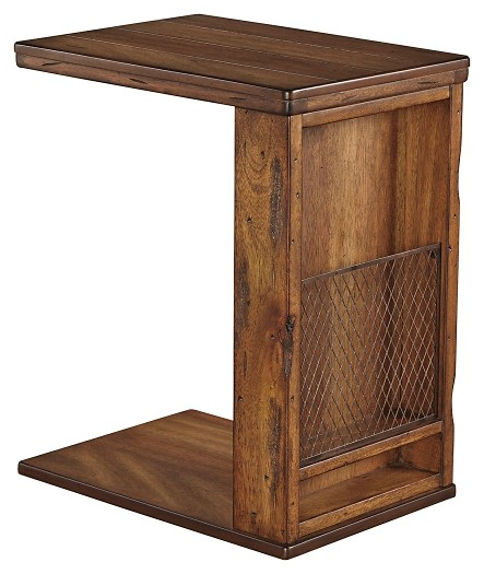 Tamonie - Medium Brown - Chair Side End Table